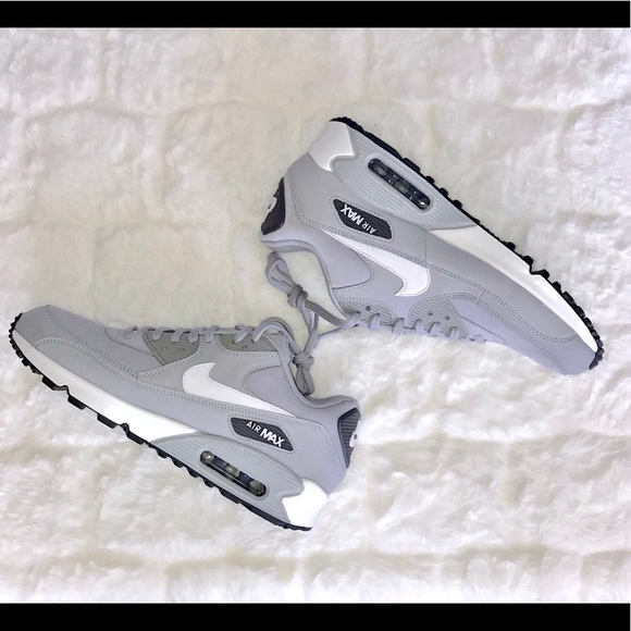 405c8b0b609 Nike Air Max 90 in Wolf Grey   White
